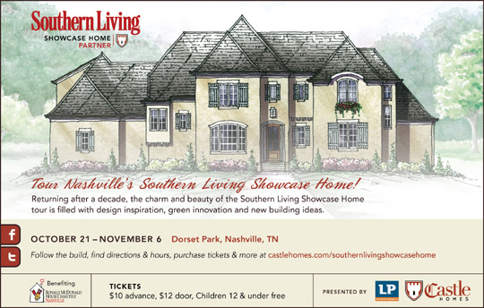 nashville 39 s southern living showcase home will be open to the public